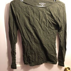 Forest Green Long Sleeve!